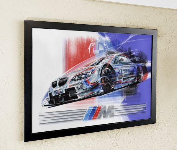 BMW Z4 DTM Original Art Wall