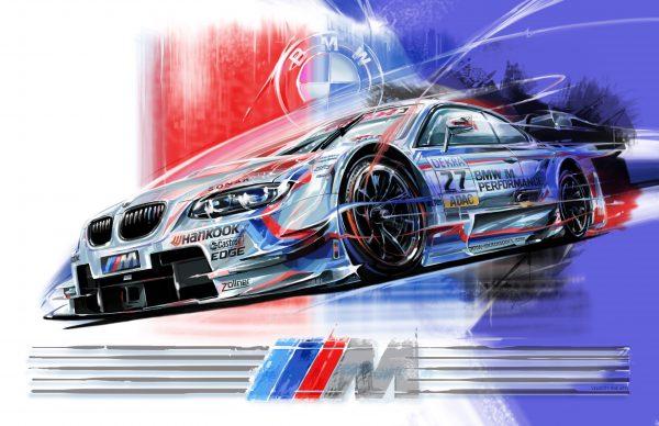 BMW Z4 Original Artwork